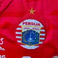 Jersey Kaos Baju Bola Persija Home Premium Sablon Kerah Bulat