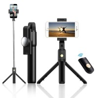 IPhone& Android Selfie Stick 3 In 1 Wireless Bluetooth Foldable