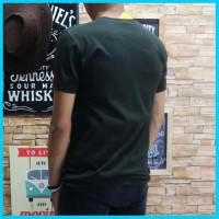 Baju Kaos Pria Fila Oblong Remaja Atasan Cowo Tshirt Distro Katun Prem