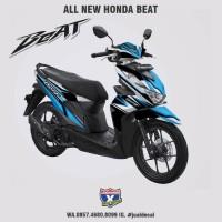 stiker Striping Variasi decal Honda BEAT & Steet New 2020 ICON blue