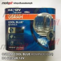 Osram CBA H4 Cool Blue Advance 5000K 12V 60/55W Lampu Halogen Putih