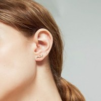Dear Me - Constellation Earring (925 Sterling Silver 14K Gold Plated)