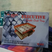 Bak surat ( Executive Tray ) susun 2 microtop