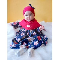Baju Bayi Aysa Celebrating Rose Hijab Dress