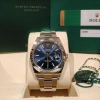 jam tangan Rolex Datejust 41 Blue Oyster 126300 2019