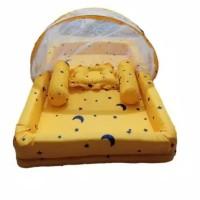 kasur bayi kelambu kolam 9