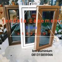 jendela aluminium 40x80 casement