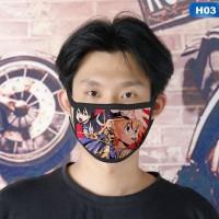 Masker mulut anime Sword Art Online SAO motif 3