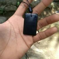 Kalung Batu Black Jade Asli