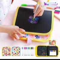 Buku Gambar Anak / Reusable Drawing Book / Mainan Edukasi Anak