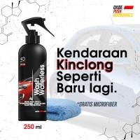 OXIDE wash waterlees, pembersih dan pengkilap body mobil dan motor