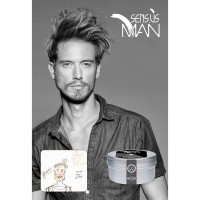 SENSUS MAN SHINE CODE HAIR WAX STYLING POMADE - 75ML