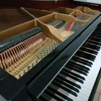 Baby Grand Piano Wagner GP-148 Hitam Mulus