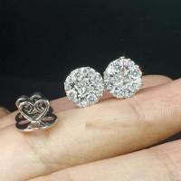 SINAR BERLIAN Jewellery - Anting berlian eropa asli F VVS SB1223