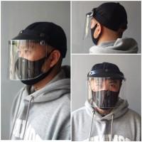 Topi Corona Topi Tameng Pelindung Wajah Face Shield READY STOCK