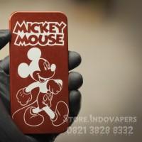 Backdoor V3 Aluminium Croop Costum Desain Mickey Mouse
