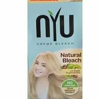 nyu hasil bleaching natural bleach tidah merusak rambut