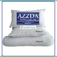 AZZDA 3 buah bantal/guling isi silikon