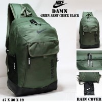 tas ransel nike damn / gym sekolah backpack pria laptop gembok