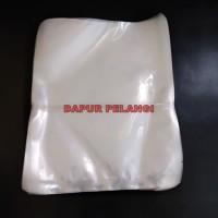 Plastik Vacum / Plastik Vacuum Murah /Vacuum Bag / Vacum Polos 20x25