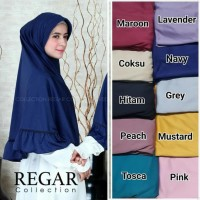 GROSIR!! kerudung ZOYA by regarcollection hijab bergo instan jilbab