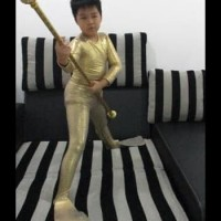 DISKON Baju Kostum Renang Mermaid Cowok / Kostum Katak SET TERBAIK
