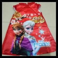 TERMURAH Dress Anak Cheongsam CNY Frozen - Size 95 PROMO SPECIAL