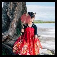 BERMUTU hanbok hanfu baju adat china anak baju dinasti tang TERBAIK