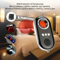 K98 Anti Spy Hidden Camera Detector Scanner Finder Getaran Alarm