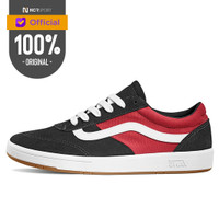 Sepatu Sneakers Vans Cruze Cc 2 Tone Black Racing Red Original VN0A3WL