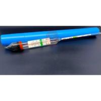 Aquarium Hydrometer Thermometer Pengukur Kadar Garam Air Laut Asin