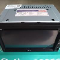 Head Unit Double Din DVD USB Bluetooth Mirrorlink AVI 1800H MKII