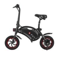 [GARANSI] DYU D1 Seated Electric Scooter Bike Sepeda Skuter Listrik