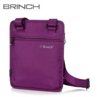 Tas Laptop Selempang Brinch Slingbag IPAD / Tablet ungu