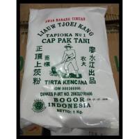 Tepung Tapioka no 1 Sagu Cap Pak Tani Liauw Tjoei Kang 1 kg