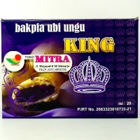 KING BAKPIA UBI UNGU ISI 20pcs | BAPIA PIA KHAS JOGJA YOGYA JOGJAKARTA