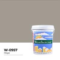 CAT TEMBOK EXTERIOR MOWILEX WEATHERCOAT 2,5 LITER (MEGA, W09-57)