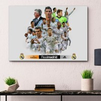 Poster REAL MADRID poster frame A3+ (30x43cm) UCL 2014 Champions