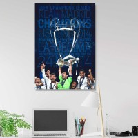 Poster REAL MADRID poster frame A3+ (30x43cm) UCL 2014 WINNERS 1