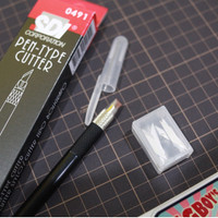 SDI Pen Cutter Hobby Art Knife Pisau Potong Ukir Gunpla Papercraft