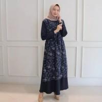 BAJU MUSLIM WANITA MURAH BARU ALMA DRESS BRUKAT BAJU KONDANGAN
