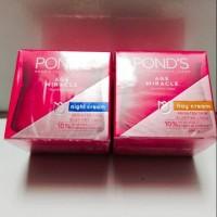 Paket Pond Age miracle Night 10g dan Day cream 10g