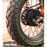 PAKETAN BAN LUAR SWALLOW SB117 STREET ENDURO UK 110/80-17 & 120/80-17
