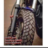 BAN LUAR SWALLOW SB 117 STREET ENDURO UKURAN 120/80-17