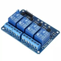 Module Relay 4 Channel 5V untuk Arduino Uno ARM PIC AVR STM32