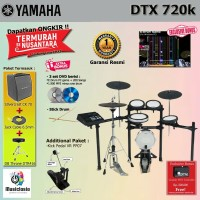 Drum Elektrik Yamaha DTX720 Complete / DTX720K / DTX 720 / DTX 720K