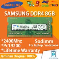 RAM LAPTOP SAMSUNG DDR4 8GB SODIMM 2400Mhz PC19200 NOTEBOOK MEMORY ORI