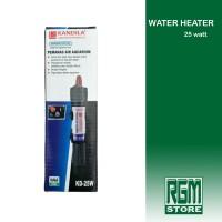 water Heater 25WATT 25 WATT penghangat pemanas air Aquarium Aquascape