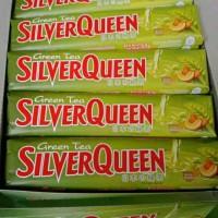 Terpopuler Promo !! Silverqueen 65Gr Green Tea - Cokelat Coklat Bagus