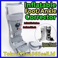 Sepatu Boots Tiup Penyangga Ankle Kaki untuk Korektor Ligamen Tulang
